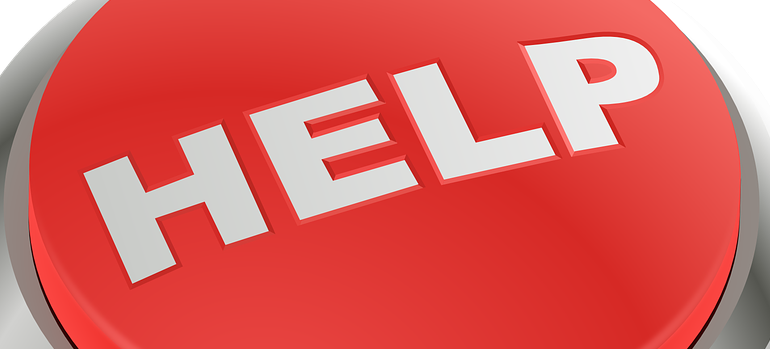 help sign because sometimes professional assistance is necessary for successful website management