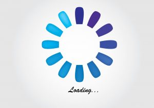 The loading icon.