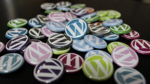 WordPress badges.