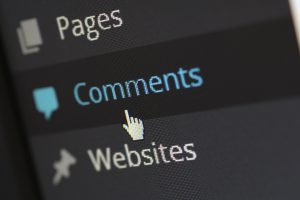 WordPress posts comments section.