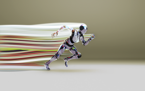 A running bot.