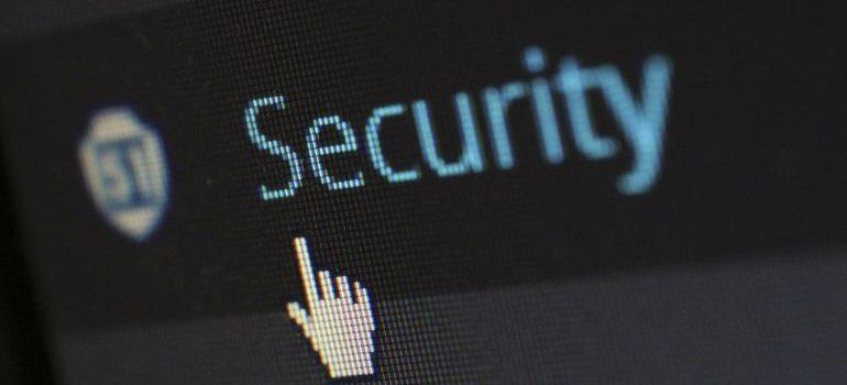 WordPress security tab.