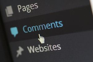 A screenshot of the comments section on the WordPress website.