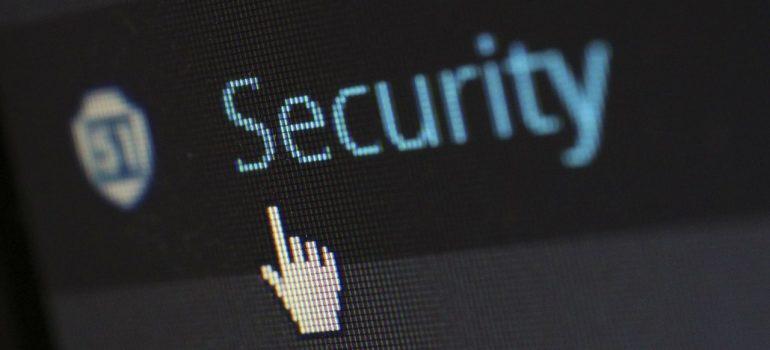 Security tab in WordPress.
